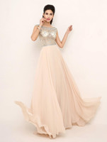 Cheap Reference Images 2014 Best Scoop Chiffon 2014 prom dresses