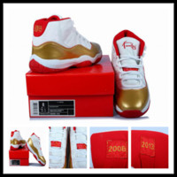 pvc leather - Two Rings ray allen basketball shoes athletic shoes for men high quality men sneakers White gold Red