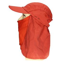 Wholesale Camping Hiking Fishing Outdoor Sun Mesh Long Brim Long Neck Cover Flap Hat Cap