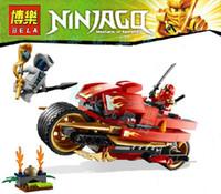 Plastic 3 wheel motorcycle - BELA Ninjago Phantom Ninja minifigures generations Kay wheel motorcycle building block sets eductional kids toys