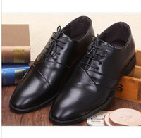 Men Oxfords Spring and Fall 2014 NEW TOP SALE charming Men's Pointy lace-up wedding shoes prom shoes Business casual shoes Dress Shoes Business