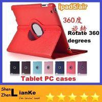 Folding Folio Case other For Apple 360 Degree Rotating Smart PU Leather Case Cover for iPad Air iPad Mini Retina Mini 2 Tablet PC DHL FREE SHIPPING