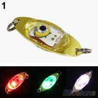 Wholesale LED Deep Drop Underwater Eye Shape Fishing Squid Fish Lure Light Flashing Lamp