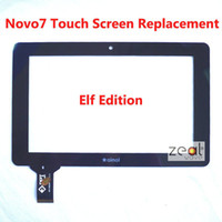 Wholesale A New7 quot touch screen digitizer touch panel for Ainol novo7 elf II Novo elf2 elf tablet code