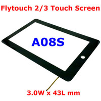 Wholesale 10 quot Inch Touch Screen Replacement for FlyTouch A08S W x L mm