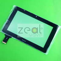 Wholesale 7 Black For Ainol Novo7 Crystal l novo7 elf II Novo elf2 elf Touch Screen Digitizer NO