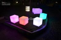 led furniture - 2014 New led furniture LED bench CMx40CMx40CM LED bench RGB color bench home bedroom Living Room Furniture set