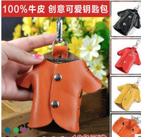 Wholesale color CL Y012 genuine leather bag case cute housekeeper men car holder key wallets