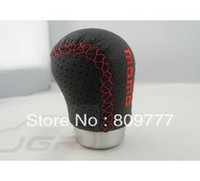 Wholesale General design Momo car Gear Shift Knob leather