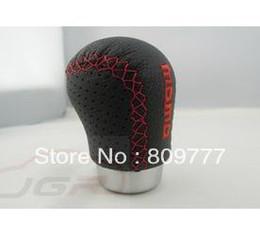Wholesale General design Momo car Gear Shift Knob leather