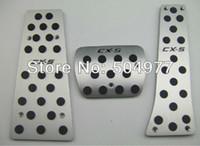 Wholesale Auto gas pedal break pedal accelerator pedal for Mazda cx CX aluminium alloy auto accessories set