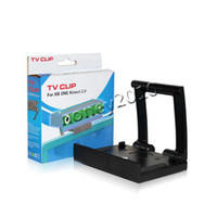 Cheap S30 5pcs New Arrival Plastic Kinect 2.0 Sensor TV Clip Mount Holder Stand for Microsoft Xbox One Black