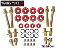 Wholesale Tansky Skunk2 B Series Low Profile Valve Cover Hardware Fit for honda Civic Default Color is Red TK DP004