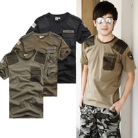 Men Crew Neck Short Sleeve Fashion Men outdoor t shirt army military 101 airborne division short sleeve tshirts 3 colors Free shipping W77 smileseller