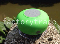 Wholesale New Portable Waterproof Wireless Bluetooth Speaker Shower Car Handsfree Receive Call Music Suction Phone Mic Promotion best quality