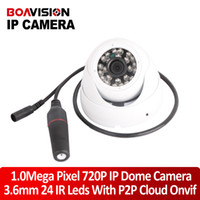 Wholesale H Mini IP Camera P Securiy HD Network CCTV Camera dome e ir cut Mega pixel indoor Network onvif p2p cloud support Phone Android IO