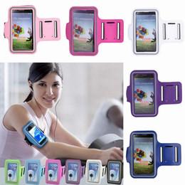 Wholesale Deportes impermeable del teléfono brazal del entrenamiento Ejecución de la caja del sostenedor de ciclo del brazo de la bolsa para la galaxia S3 S4 colores eligen IUJ