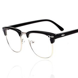 new 2014 vintage glasses women brand designer half frame round retro glasses men classic optical eyewear oculos gafas cheap designer frames bags