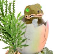 Wholesale Aquarium Fish Tank Decorative dinosaur adornment miniascape of aquatic plants
