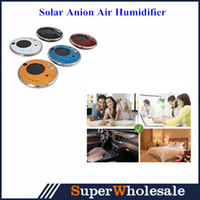 aerosol spray - 2014 New Solar Anion Air Humidifier Aroma Diffuser Lonizer Purifier For Car Or Home