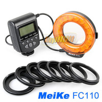 Yes Meike Yes Meike FC-110 FC110 LED Macro Ring Flash Light For Canon EOS 600D 5D Mark II 650d 70D 1100D with Meike Original Packing