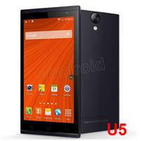 "WCDMA Quad Core Android Ulefone U5 5.5"" MTK6582 Quad core android Smart cell phone IPS QHD 960*540 1GB 4GB 8.0MP camera Android4.4 kitkat OTG Dual SIM BT 3pcs DHL"