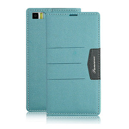 Wholesale New for XIAOMI clamshell support PU leather phone sets protection shell Blue