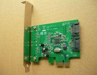 Wholesale New eSATA SATA to PCI E PCI Express Card Adapter Converter Gbps ASM1061