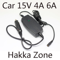 Yes Hakka Zone Yes Wholesale-Laptop Car charger 15v 3A 4A 5A 6A 90w Max notebook adapter for toshiba Satellite power supply Free shipping