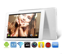 Wholesale 9 Inch Onda V975s Quad core A31s GB RAM GB ROM Android Jally Bean Dual cameras HDMI Tablet PC Retail