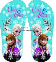 Summer house shoes - Frozen Girl Shoes Childrens Slippers Flip Flops Kids Slippers Childrens Shoes Girls Slippers Kids Footwear Cool Slippers Kid House Slippers