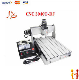 Wholesale Freeshipping CNC T DJ router cnc milling drilling carving machine