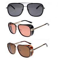 Wholesale 2014 New IRON MAN Matsuda TONY Sunglasses Men Mirrored Designer Brand Glasses Women Vintage sports sun glasses