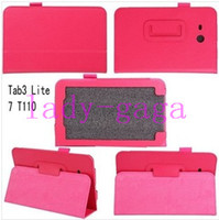 PU Leather Folio Case Cover Holster for Samsung Galaxy Tab 3...