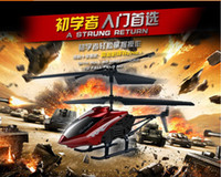 Wholesale Mini RC Helicopter Shatter Resistant Channel Metal I R Remote Control Helicopter RC Helicopter Kids Toy Gifts