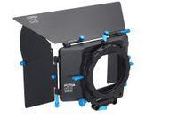 Yes Fotga Yes FOTGA DP500 Matte Box Sunshade for 15mm rod support DSLR Rig 5D II 7D D90 550D 70D 60D D7100 6D
