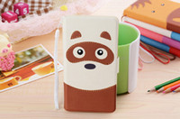 For Apple iPhone Leather  Adorable Zebra Monkey Pony Animal Face Flip Leather Case for Samsung Galaxy S3 S4 Mini i8190 note2 note3 Jungle Forest Animal Cartoon Style