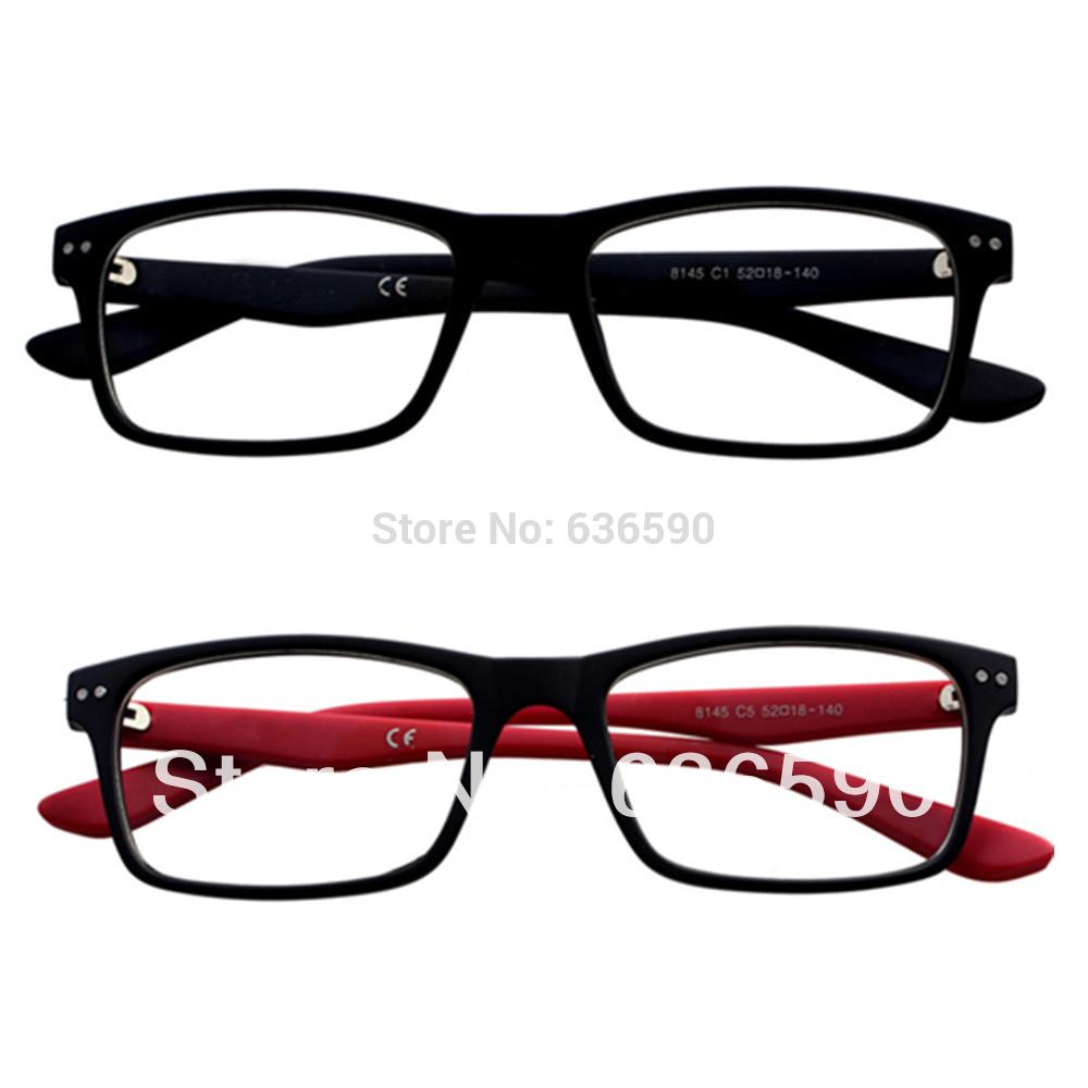 2 prs clear lens frames fashion design mens womens glasses pc computer full uv radiation protection in 000 strength accessories cheap accessories 2 prs