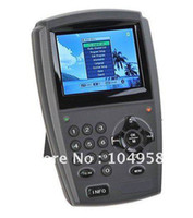 Wholesale 3 quot LCD Handheld Digital Satellite Signal Finder Meter DirecTV Dish FTA LNB Sat Drop Shipping