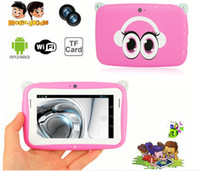 Wholesale Kids Pre school Tablet PC Hot Sale Cheapest Inch RK2926 Android MB RAM GB ROM WIFI Dual Camera MINI Tablet With Eduactional APP