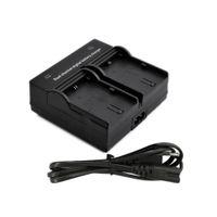 OEM D1227EU/US Electric Dual Channel Battery Charger for Canon EOS LP-E6 Battery 5D Mark II III 70D 7D 60D Digital Camera EU US plug
