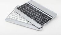 Wholesale New Sliver Aluminum Case Bluetooth Wireless Keyboard Dock for Apple New iPad iPad Air