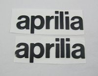 aprilia sxv - Freeshipping FUEL TANK SIDE EMBLEM GENUINE OEM Decals Stickers Aprilia SR Max SXV Tuono R Tuono V4R black color