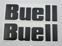 Wholesale FUEL TANK SIDE EMBLEM GENUINE OEM Decals Stickers BUELL XB9R S X R S XB12X Firebolt Blast X1 XB9R XB12R SX Lightning R BLACK