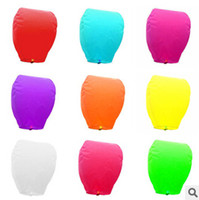 Multicolor Oval Paper 2014Hot sale olorful Wedding Balloons Flying Paper Sky Lanterns Chinese Paper Wish Floating Lamps Lights Birthday Party Decoration