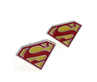 Wholesale Fashion Cufflinks Jewelry Marvel Comics Super Hero Superman Designer Men s Cuff links Metal Cufflink French Shirt Accessories