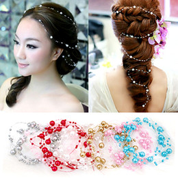 Fashion Wedding Tiara Headwear Of Bride Headdress Rhinestone Pearl Cheap Elegant Hair Charming Accessory