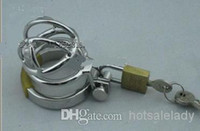 Male Chastity Cage  2014 Latest Design Super Small Male Cock Cage Chastity Art Device Cock ring BDSM Sex Stoys