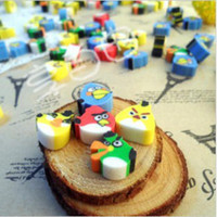 animal mini erasers - stationery sets cute lovely eraser stationery Cartoon Animal mini rubber eraser creative Kids gift