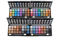 Wholesale The Sea Sand Of the Color Series Of Eye Shadow Shadow Eye Shadow Box Shimmer Series Fine Powder Easy To Apply